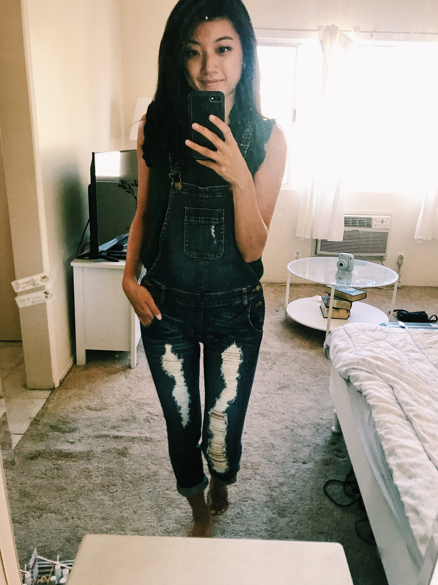 Curious how to style overalls? Los Angeles Blogger My Teacher Got Style is sharing why you should wear overalls and 4 different ways to wear them HERE!