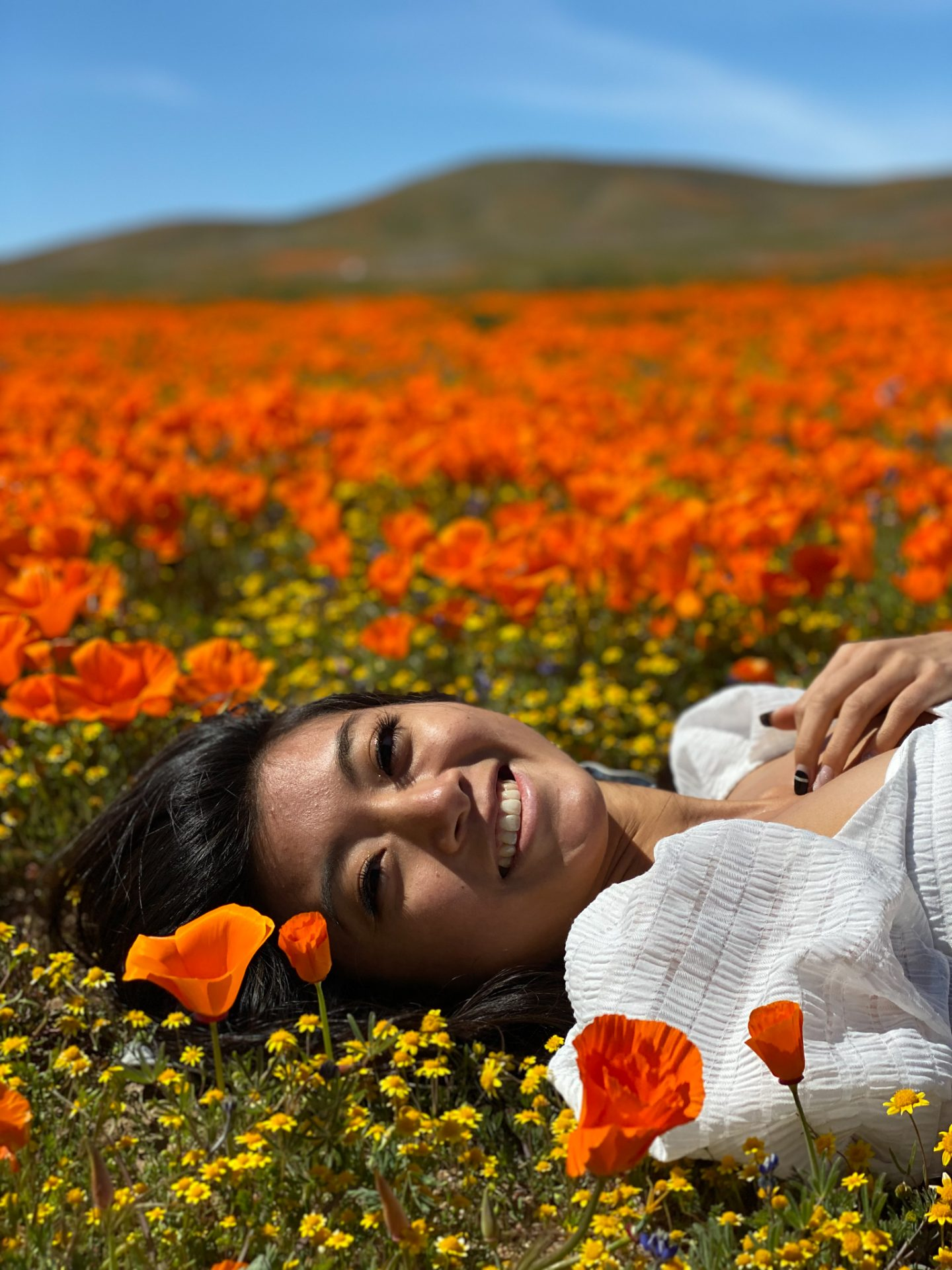 Curious about why you should visit the California Poppy Fields? Los Angeles Blogger My Teach Got Style is sharing why these gorgeous California poppy fields are a must see!